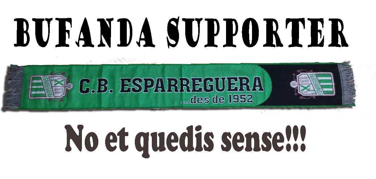 Bufanda supporter!!